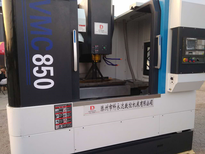 福建客户订购的VMC850硬轨加工中心准备发货了